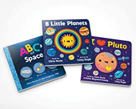 Chris Ferrie's Space for Babies Book Set: A Solar System and Planet Board Book Set