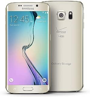 Samsung Galaxy S6 Edge, Gold Platinum 32GB (AT&T)