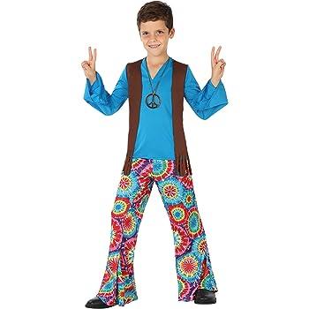 Atosa - Disfraz Hippie para niño, talla M, 5-6 años (111-28450 ...