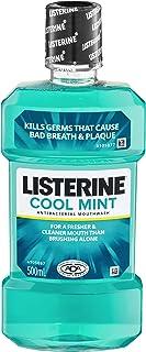 Listerine LISTERINE Mouthwash Cool Mint 500mL, 500 milliliters