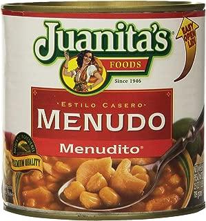 Juanita's MENUDO Menudito 25oz (2 Cans)