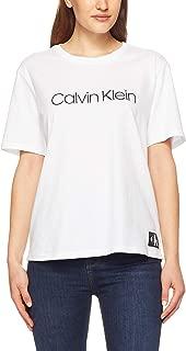 Calvin Klein Women's Monogram S/S Crew Neck