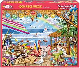 White Mountain Puzzles Happy Hour, 1000 Piece Jigsaw Puzzle