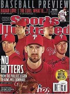 Roy Halladay Signed Philadelphia Phillies Sports Illustrated 4/4/2011 JSA