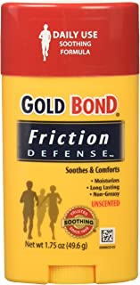 Gold Bond Friction Defense Soothing Formula Unscented- 1.75 Oz (Pack of 6)