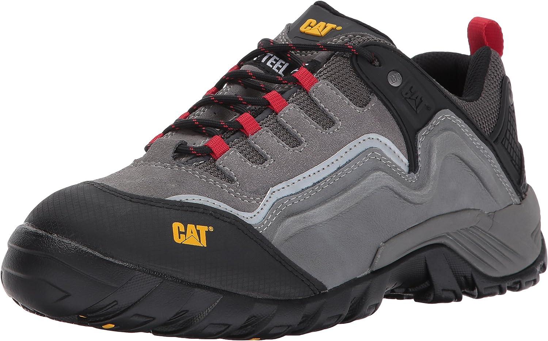 Caterpillar Men's Pursuit 2.0 Steel Toe   Medium Charcoal Work shoes