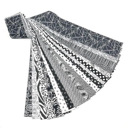Cotton Jelly Roll Quilting Fabrics Amazon Com