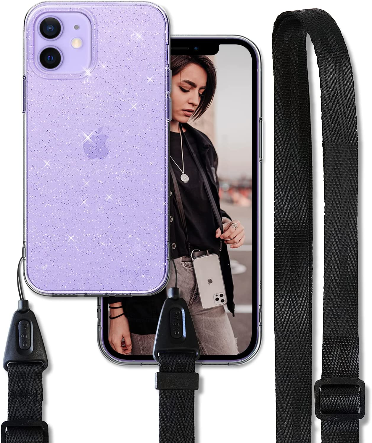 Ringke Air Shoulder quality assurance Strap Compatible iPhone Case Crossb with Outstanding 12