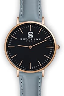 Ruby Lane Women OBR-Round Analog Quartz Watch