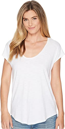 Short Sleeve Easy Scoop Neck