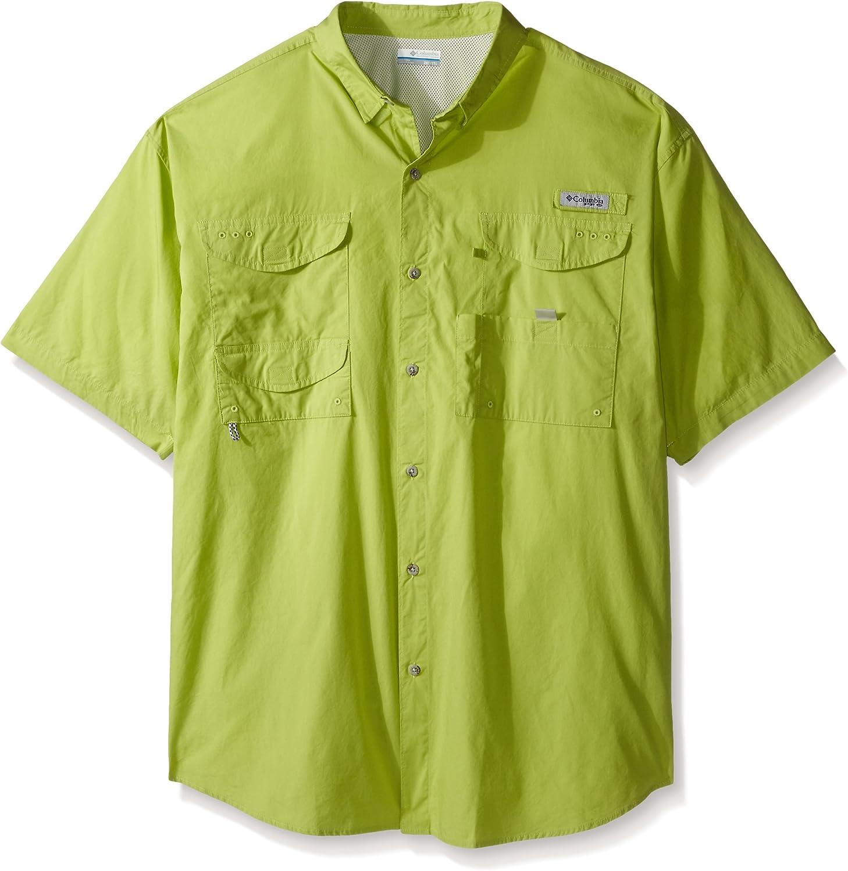 Columbia Sportswear Men's Bonehead Short Sleeve Shirt, Napa Green, 2X/Tall