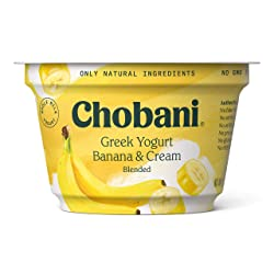 Chobani Whole Milk Greek Yogurt, Banana on the Bottom 5.3oz