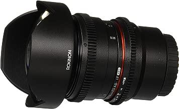 Rokinon 14mm T3.1 ED AS IF UMC Cine Ultra Wide Angle Lens for Olympus and Panasonic Micro 4/3 (MFT) Mount Digital Cameras (CV14M-MFT)