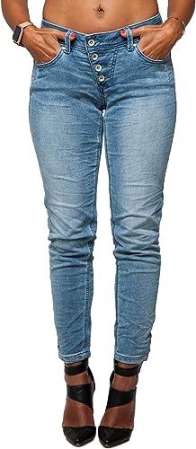 Buena Vista Damen Jeans Malibu 7 8 Stretch Sweat Denim