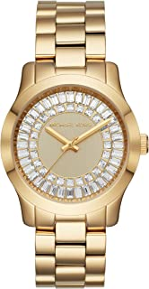 Women's Runway Gold Tone Stainless Steel Watch MK6532