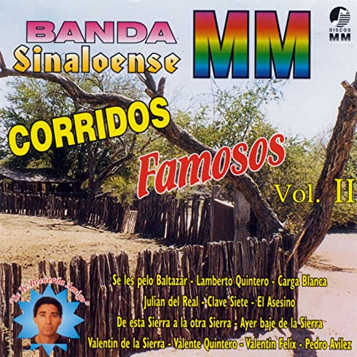 Corridos Famosos, Vol. 2 by Banda Sinaloense MM on Amazon Music - Amazon.com
