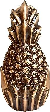 Hanzla Collection Solid Brass Pineapple Door Knocker Antique Doorknocker