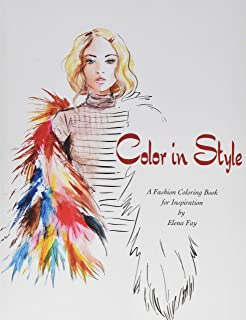 Color in Style: Fashion Coloring Book