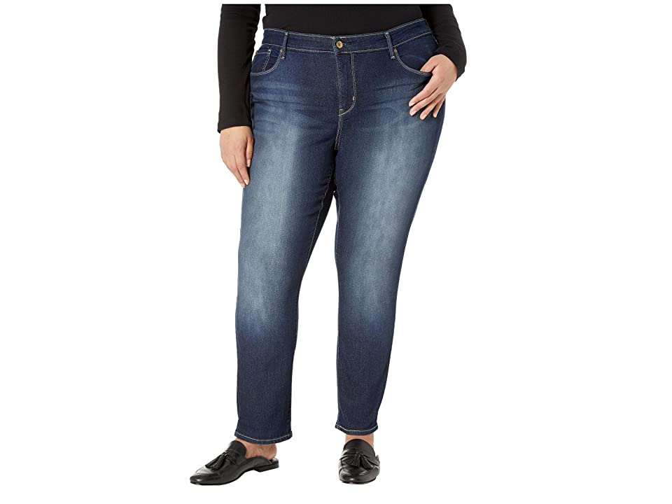Signature by Levi Strauss & Co. Gold Label Plus Size Totally Shaping Slim Straight Jeans (Perfection) Women
