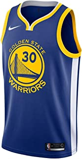 Nike Stephen Curry Golden State Warriors Icon Edition Swingman Jersey - Blue
