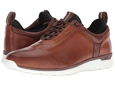 Johnston & Murphy Prentiss XC4(r) U-Throat Casual Dress Sneaker (Mahogany Waterproof Full Grain) Men