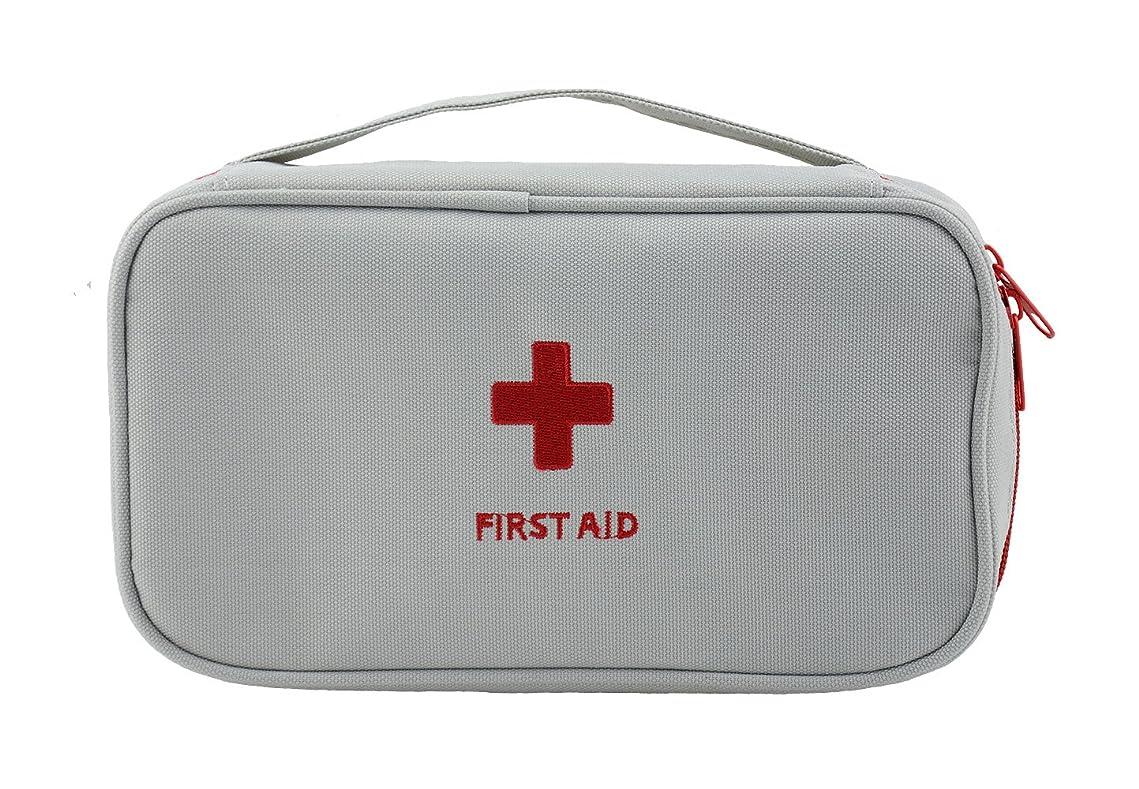 予約のぞき見補うBausweety メディカルポーチ 救急箱 ファーストエイドキット 収納ポーチ 医療バッグ 家庭 学校 旅行 救急用