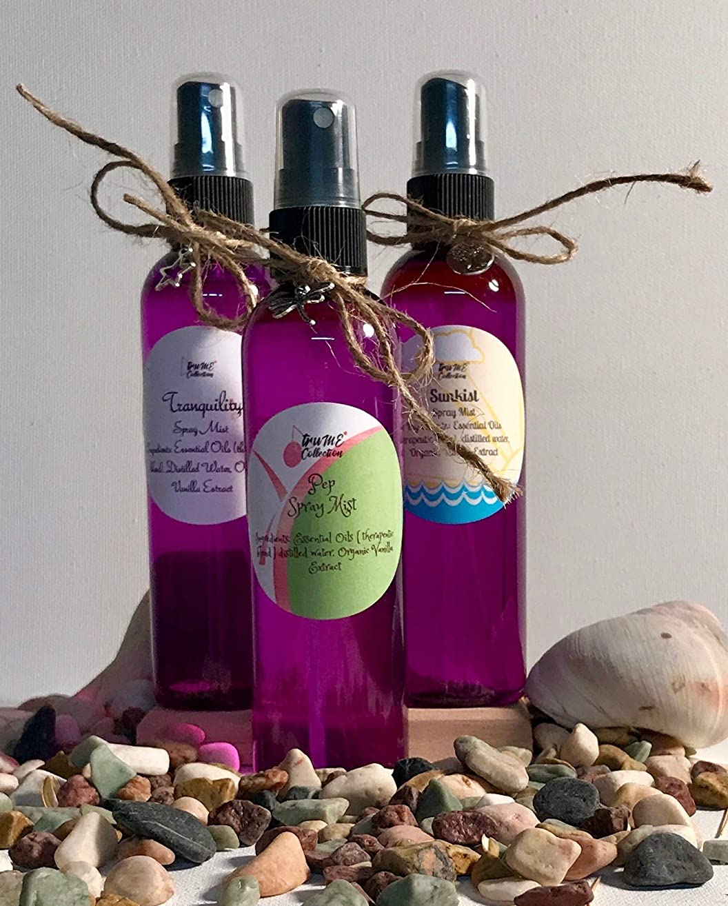 Aromatherapy Room and Body Spray Organic Essential Oil Therapeutic Grade
