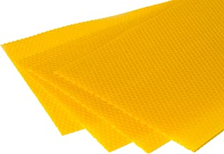 Zander Mittelwände 1kg für Imker Größe 395x195mm aus 100% Bienenwachs