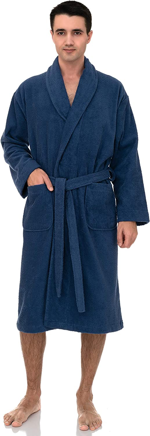 TowelSelections Men's Max 46% OFF Robe Turkish Terry Cotton Shawl Bath 1 year warranty