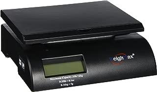 Weighmax Digital Postal Scale, Black (W-2822-35-BLK)