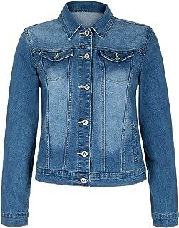 53ecd648f9 Amazon.fr : Veste en jean - 48 / Femme : Vêtements