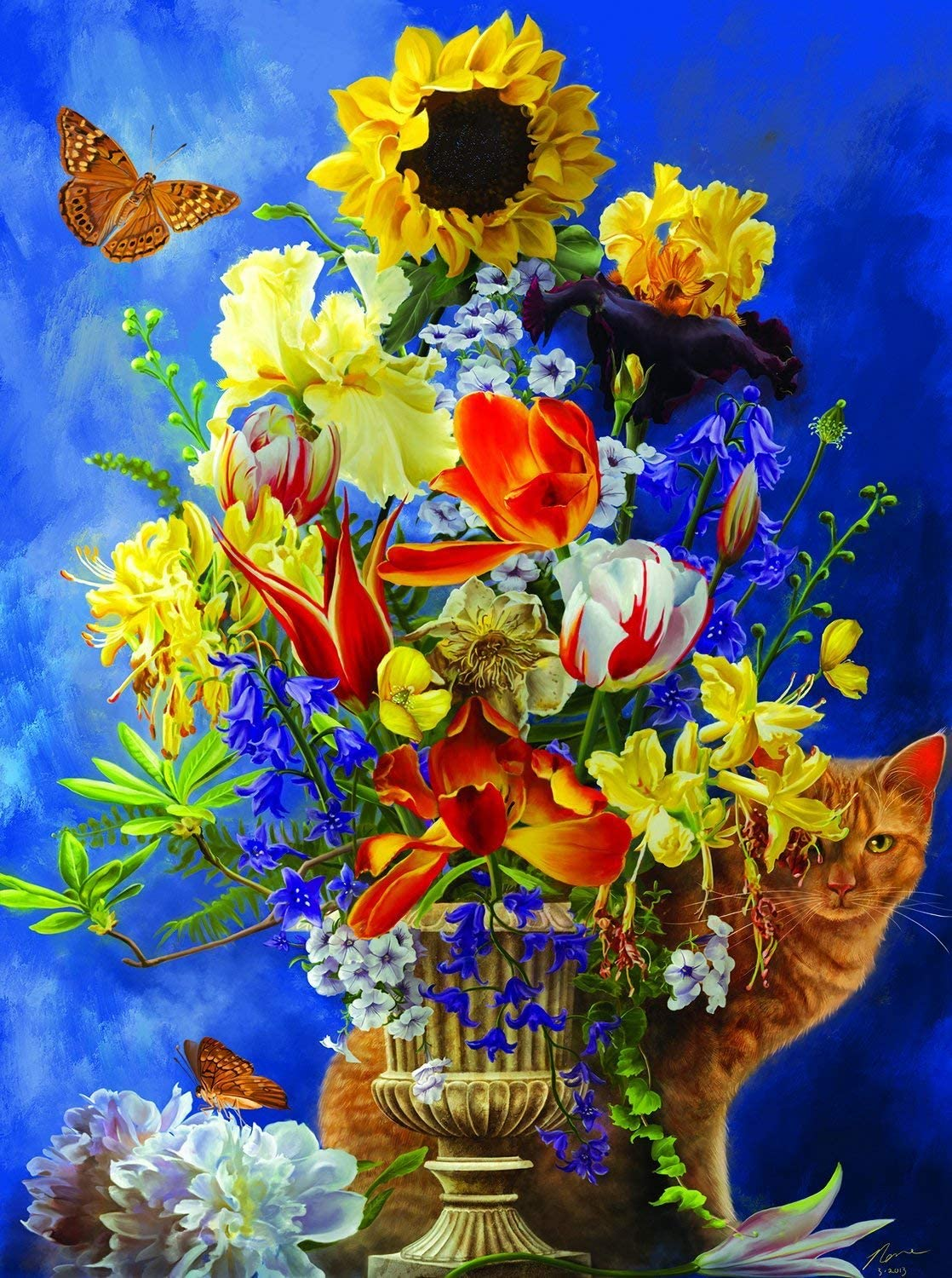 Garden of Gold 1000 pc Jigsaw Puzzle by SunsOut