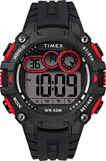 Timex Mens Quartz Watch, Digital Display And Silicone Strap - TW5M27000