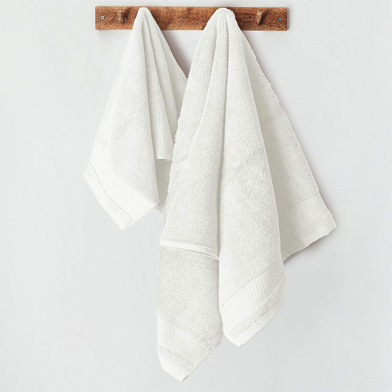 Numero 1 Asciugamano OSPITE in Morbida SPUGA IDROFILA di Cotone 100/% Bordeaux LARA MORADA Set 1+1 Asciugamani in SPUGA Tinta Unita Numero 1 Asciugamano Viso