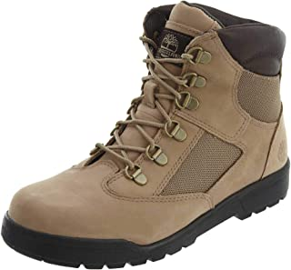 Timberland Kids' 6'' Leather/Fabric Field Boot (Big