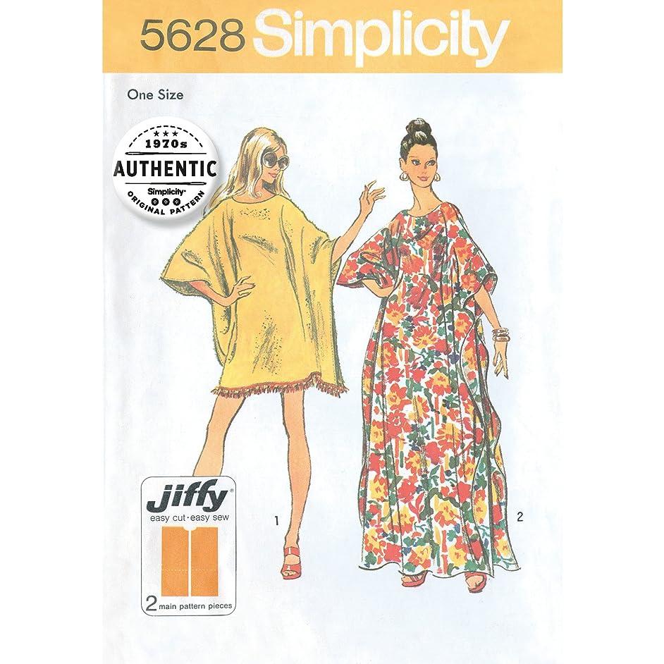 Simplicity Vintage UV5628OS Dresses