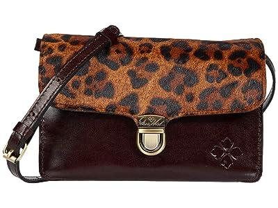 Patricia Nash Bellizzi Crossbody Organizer (Leopard) Bags