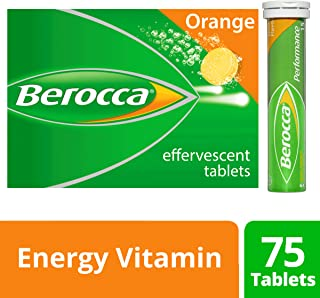 Berocca Berocca Energy Vitamin Orange Effervescent Tablets 75 Pack