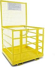 Forklift Safety Cage Work Platform Heavy Duty Basket Aerial Fence Rails 45