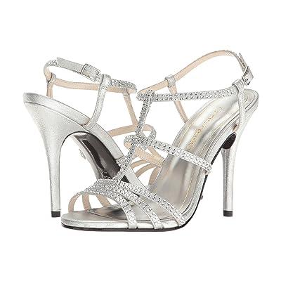 Caparros Groovy (Silver Metallic Fabric) High Heels