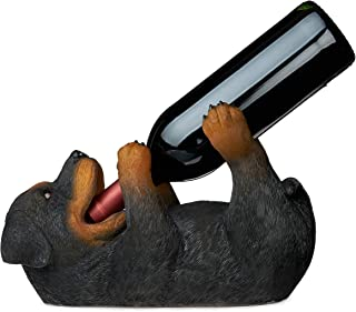 TRUE Rottweiler Wine Bottle Holder, One Size