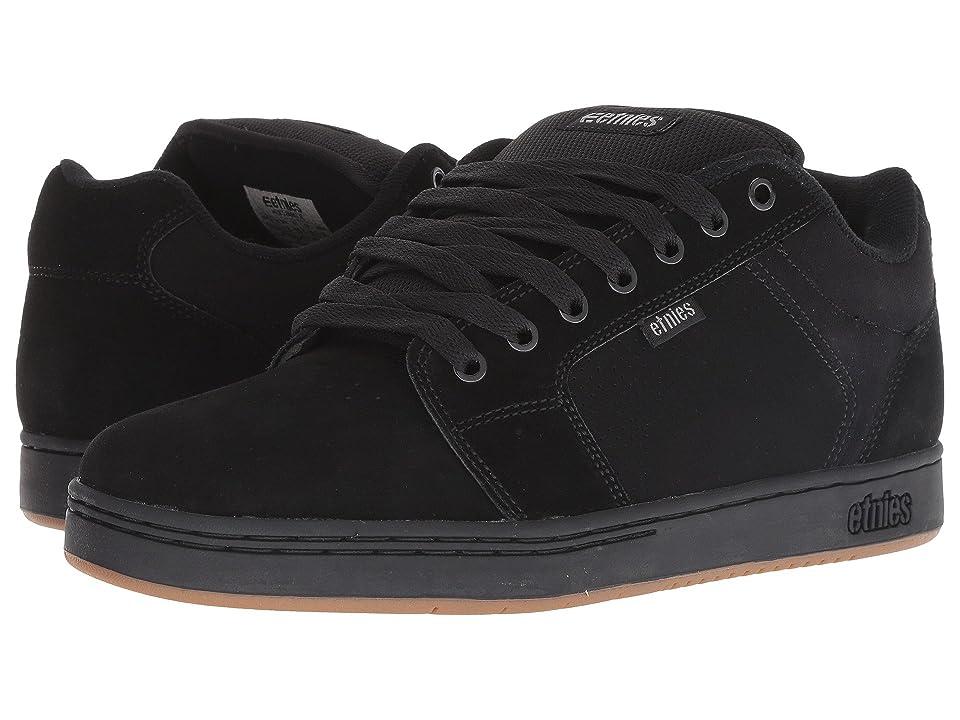 etnies Barge XL (Black) Men's Shoes