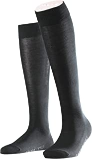 FALKE Women Family Knee-High Socks - 94% Cotton, Ideal For Casual Looks, US sizes 5 to 10.5