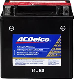 ACDelco ATX14LBS Specialty AGM Powersports JIS 14L-BS Battery