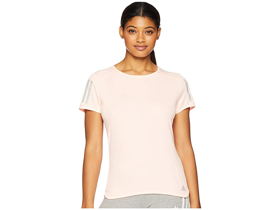 adidas Response Short Sleeve Tee (Clear Orange) Women