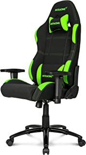 AKRacing K7012 - AK-K7012-BG  - Silla Gaming, Color Negro/Verde