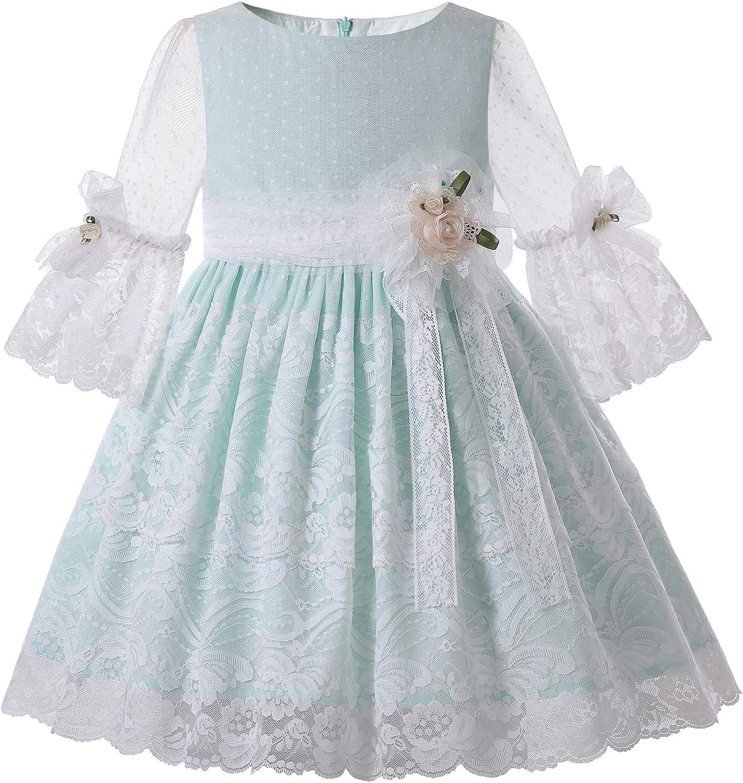 Pettigirl Girls Spring Light Blue Half P Max 82% OFF Regular store Clothing Sleeve Toddler