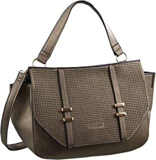 Milleni Tote Handbag with perforated detail (NC2682)