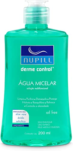 Água Micelar Nupill Derme Control 200ml, Nupill