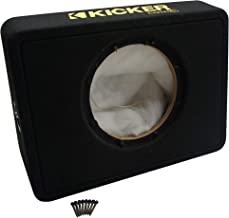 "Kicker TCWC10 Car Audio Single 10"" Truck Sub Box Subwoofer Enclosure Universal"